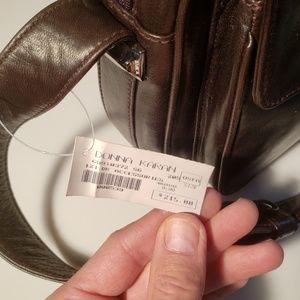 Donna Karan Bags - Donna Karan Dark Brown Shoulder Bag - NWT